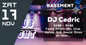 Bassment Club Night – DJ Cedric